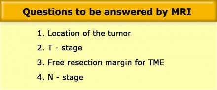 Мрт рака прямой кишки рецидив